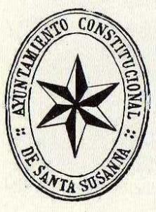 Escudo municipal  del año 1900