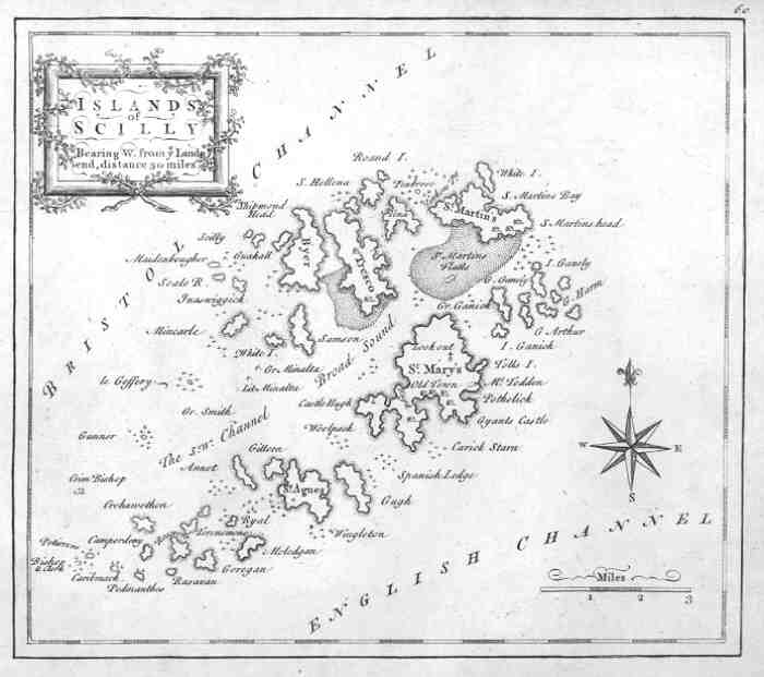 scilly map